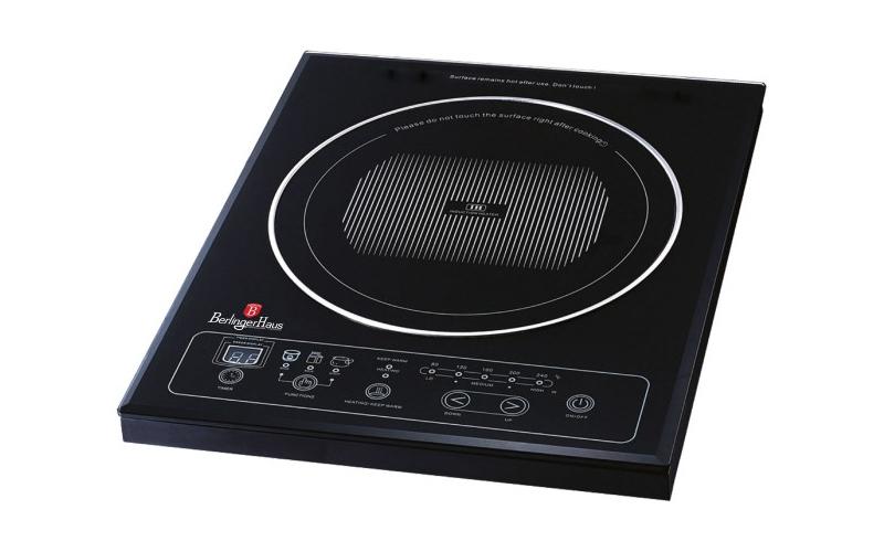 Berlinger Haus BH-9000 Μονή Επαγωγική Εστία - Induction cooker 1800W με Δαχτυλίδ ηλεκτρικές οικιακές συσκευές   εστίες μαγειρέματος