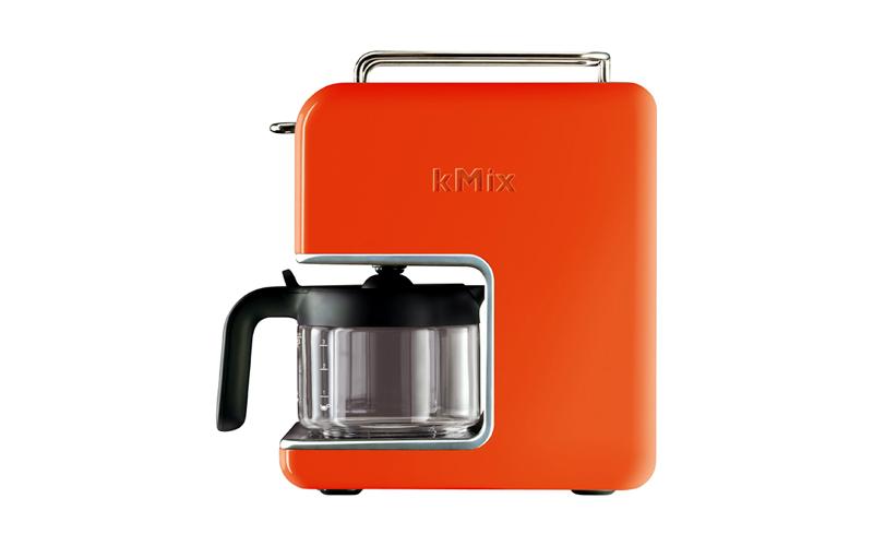 Καφετιέρα Φίλτρου 1200W 750ml για 6 φλιτζάνια σε Πορτοκαλί χρώμα, Kenwood kMix C μικροσυσκευές   καφετιέρες