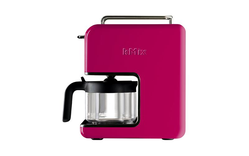 Καφετιέρα Φίλτρου 1200W 750ml για 6 φλιτζάνια σε Φούξια χρώμα, Kenwood kMix CM02 μικροσυσκευές   καφετιέρες