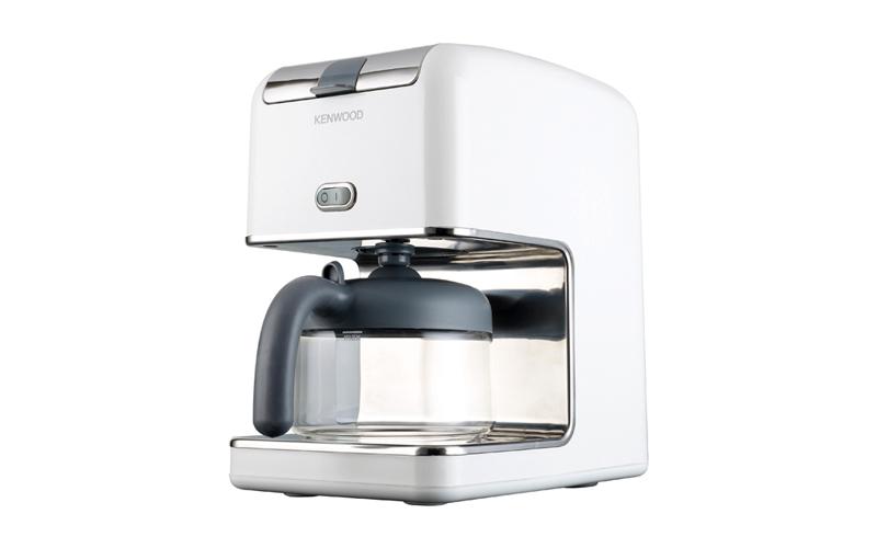 Kenwood Καφετιέρα Φίλτρου 1100W 750ml για 6 φλιτζάνια σε Λευκό χρώμα - Kenwood μικροσυσκευές   καφετιέρες