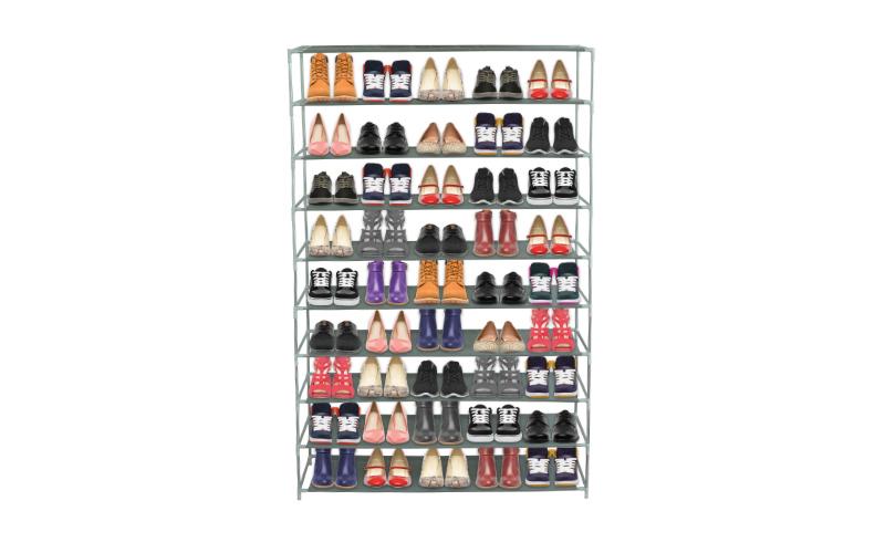 Παπουτσοθήκη – Stand 9 ραφιών για Αποθήκευση 50 Ζευγαριών Παπουτσιών σε Γκ σπίτι   οργάνωση σπιτιού