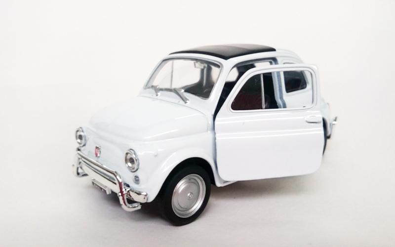 Μεταλλικό Αυτοκίνητο Μινιατούρα Fiat Nuova 500 σε κλίμακα 1:38 Official Licensed παιχνίδια  παιδί  και  βρέφος   οικολογικά παιχνίδια