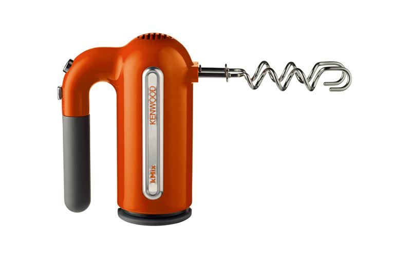 Μίξερ Χειρός 400W με 5 ταχύτητες και επιπλέον αξεσουάρ σε Πορτοκαλί χρώμα, Kenwood kMix HM 807 – Kenwood