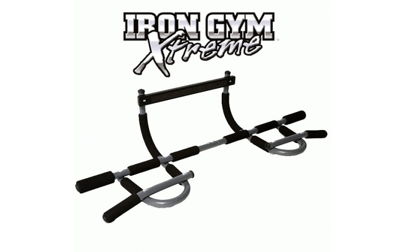 Iron Gym Xtreme Μονόζυγο για εκγύμναση και ενδυνάμωση άνω, κάτω, μεσαίων και πλά όργανα γυμναστικής   μονόζυγα