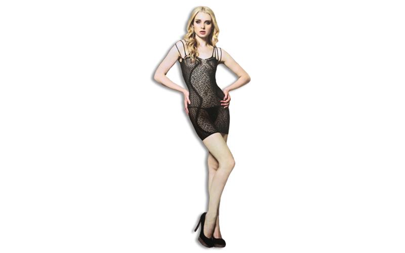 Sexy Εσώρουχο Σέξι Διχτυωτό Babydoll σε Μαύρο χρώμα με 4 λεπτές τιράντες, Moze 8 ερωτικά προϊόντα και ένδυση   sexy εσώρουχα