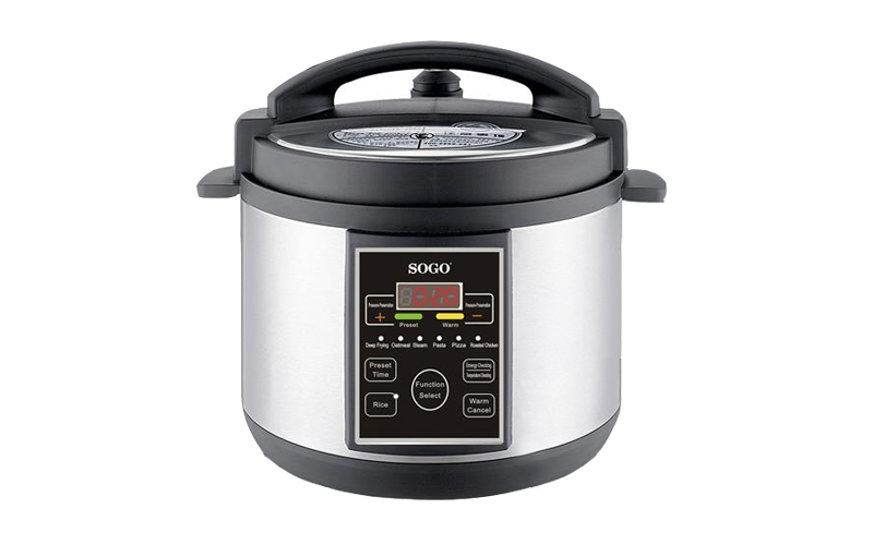 Αυτόματη Πολυ-λειτουργική Χύτρα Ταχύτητας 5L 900W, Sogo OLL-SS-10755 - SOGO - 00 σκεύη μαγειρικής   χύτρες ταχύτητας