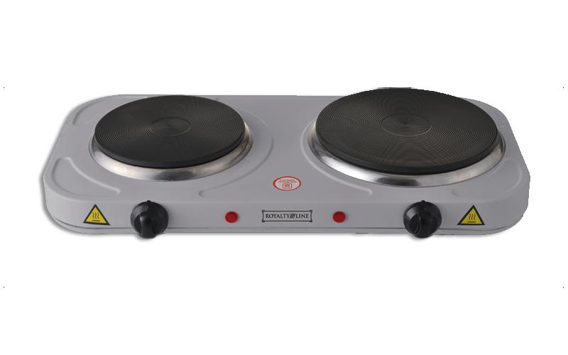 Royalty Line RL-EKP-2500.15 Διπλή Ηλεκτρική Εστία 1000+1500W με διαμέτρους 18.5  ηλεκτρικές οικιακές συσκευές   εστίες μαγειρέματος