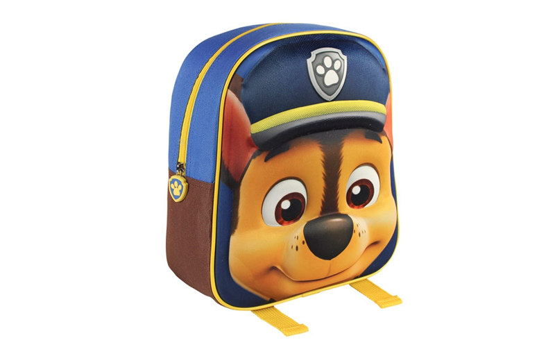 Disney Σχολική τσάντα 3D με φερμουάρ και ρυθμιζόμενους ιμάντες με θέμα The Paw P ρούχα  παπούτσια  και  αξεσουάρ   τσάντες  πορτοφόλια  βαλίτσες ταξιδίου