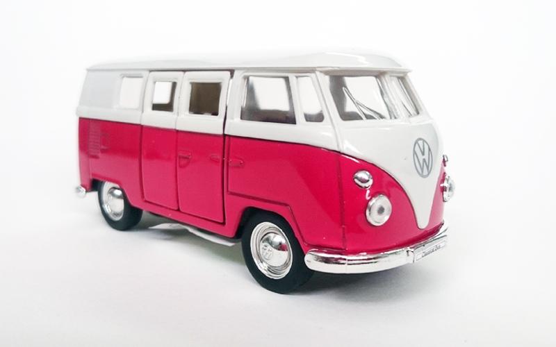 Μεταλλικό Αυτοκίνητο Μινιατούρα VW T1 Bus του 1963 σε κλίμακα 1:38 Official Lice παιχνίδια  παιδί  και  βρέφος   οικολογικά παιχνίδια