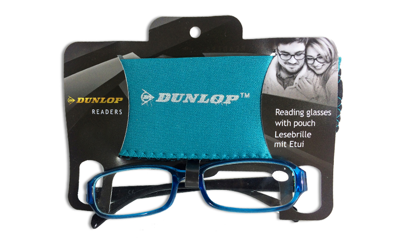 Γυαλιά Πρεσβυωπίας Διαβάσματος Γαλάζιο Γυαλιστερό και ασορτί θήκη με βαθμό +1.00 υγεία  και  ομορφιά   οπτικά γυαλιά