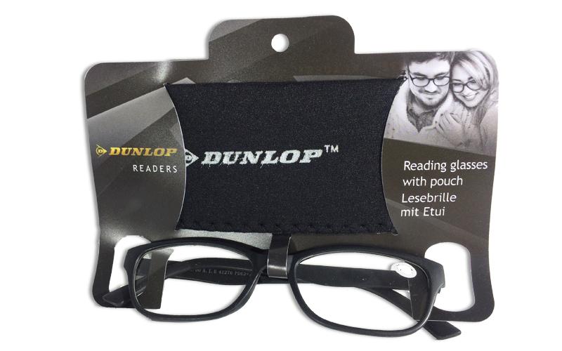 Γυαλιά Πρεσβυωπίας Διαβάσματος Μαύρα Ματ με ασορτί θήκη με βαθμό +2.00, Dunlop 4 υγεία  και  ομορφιά   οπτικά γυαλιά