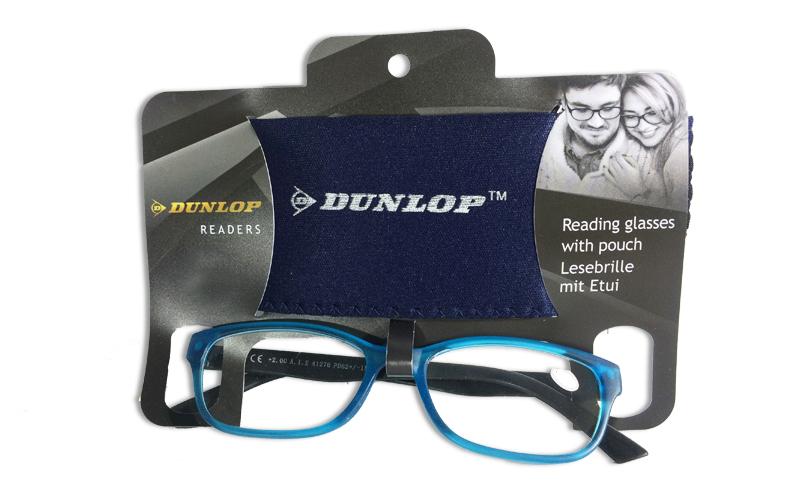 Γυαλιά Πρεσβυωπίας Διαβάσματος Μπλε Ματ με ασορτί θήκη με βαθμό +1.00, Dunlop 41 υγεία  και  ομορφιά   οπτικά γυαλιά