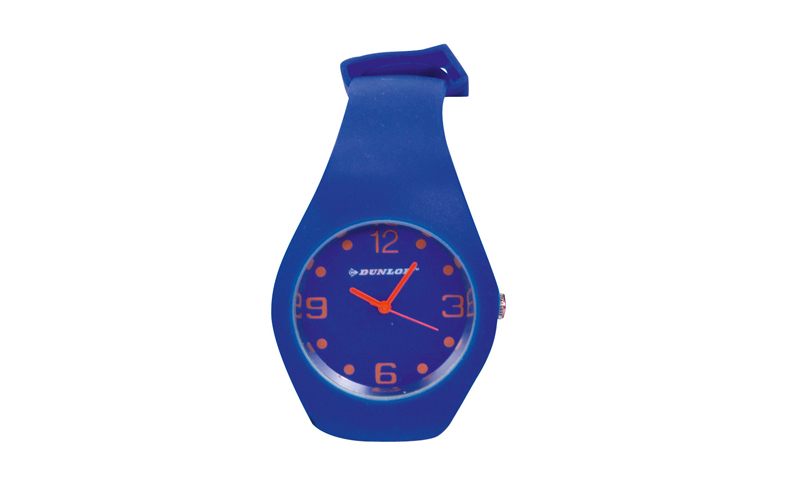 Dunlop Μοδάτο Αναλογικό Ρολόι χειρός Fashion Trendy με λουράκι σιλικόνης Χρώμα Μ ρολόγια χειρός   unisex ρολόγια χειρός
