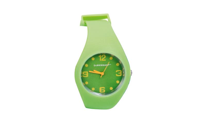 Hellas-tech Dunlop Μοδάτο Αναλογικό Ρολόι χειρός Fashion Trendy με λουράκι  σιλικόνης Χρώμα Πράσινο - Dunlop dcef8f62845