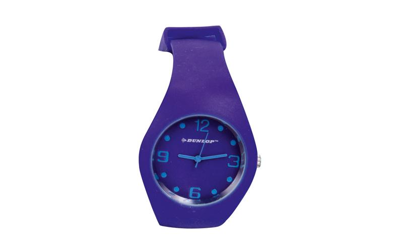 Dunlop Μοδάτο Αναλογικό Ρολόι χειρός Fashion Trendy με λουράκι σιλικόνης Μωβ - D ρούχα  παπούτσια  και  αξεσουάρ