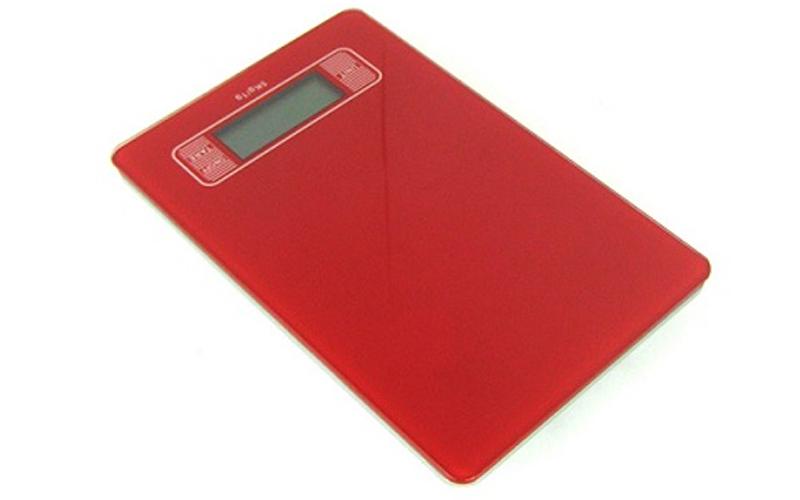 Ψηφιακή ζυγαριά Κουζίνας Ακριβείας Χρώμα Κόκκινο - BCTK-EKS-51 κουζίνα   ζυγαριές κουζίνας