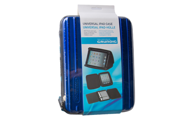 Grundig 48955 Universal Σκληρή θήκη από Ανθεκτικό Πλαστικό για Apple iPad™ τεχνολογία   tablets