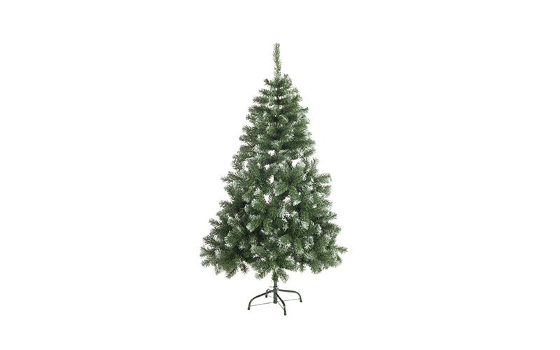 Τεχνητό Χιονισμένο Χριστουγεννιάτικο Δέντρο τύπου Έλατο ύψους 120cm με Μεταλλική εποχιακά   χριστουγεννιάτικα είδη