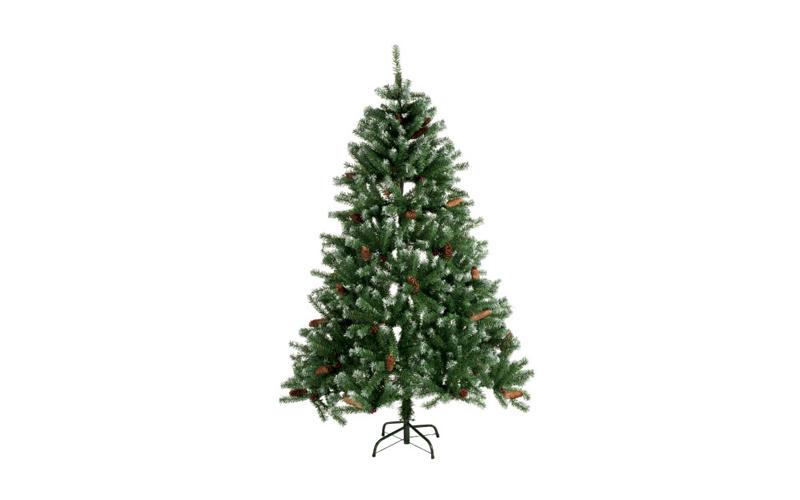 Τεχνητό Χριστουγεννιάτικο Δέντρο τύπου Έλατο με Κουκουνάρια και Κόκκινους καρπού εποχιακά   χριστουγεννιάτικα