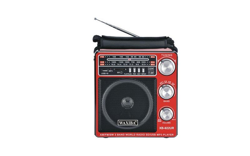 Επαναφορτιζόμενο Ραδιόφωνο - Multimedia Player Speaker 8W - Φακός LED 150LM - WA τεχνολογία   ηχεία κινητών