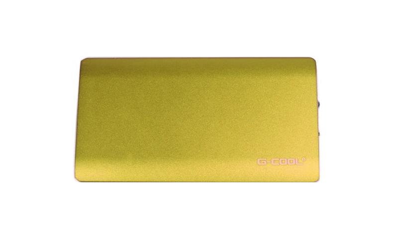 Ultra Thin Power Bank 9.000 mah 2.1A - Μπαταρία Φορτιστής G-Cool TS02! Χρώμα Χρυ τηλεπικοινωνίες   φορητοί φορτιστές   power banks