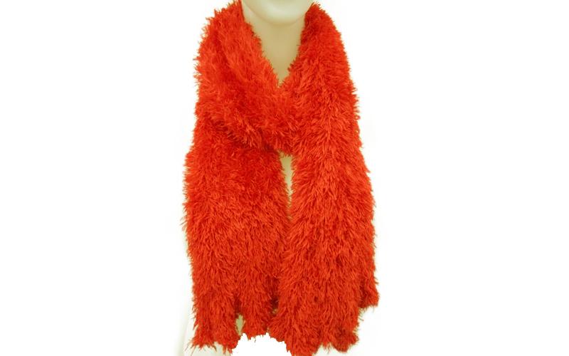 Μαγικό κασκόλ Μικροϊνών που φοριέται με 18 διαφορετικούς τρόπους Χρώμα Κόκκινο - αξεσούαρ   καπέλα  κασκόλ και φουλάρια