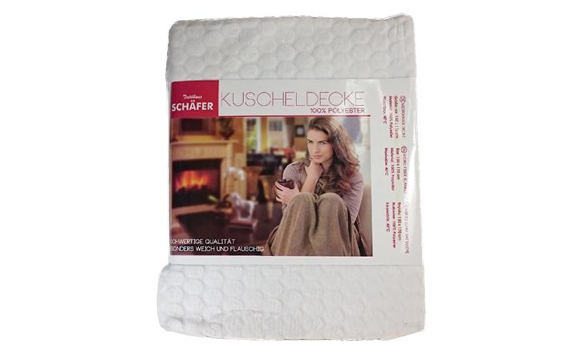 Λεπτή μαλακή και ζεστή κουβέρτα απο Μικροίνες (Microfiber) υψηλής ποιότητας 130x λευκά είδη   χαλιά και κουβέρτες