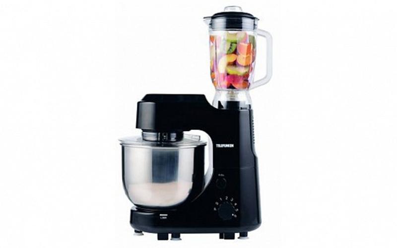 Telefunken Κουζινομηχανή Mπλέντερ (Blender) αποτελούμενο από Μίξερ με ανοξείδωτο κουζίνα   κουζινομηχανές πολυκόφτες