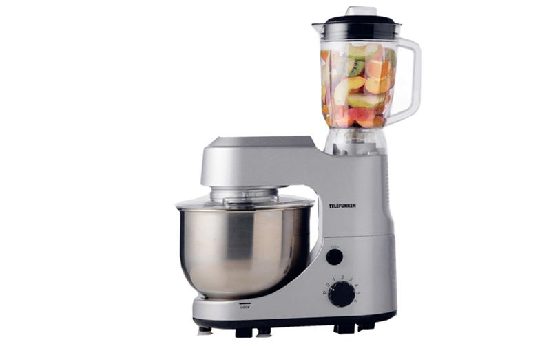 Κουζινομηχανή αποτελούμενη απο μίξερ με ανοξείδωτο κάδο, μπλέντερ, 1000 Watt, Te για την κουζίνα   κουζινομηχανές πολυκόφτες