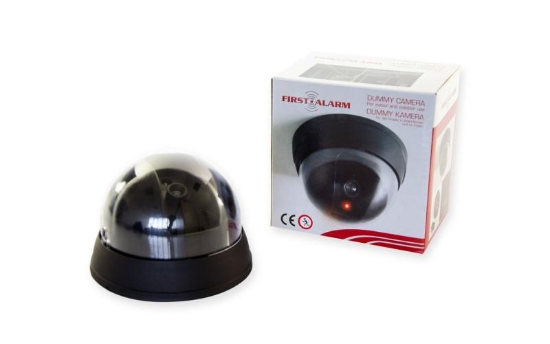 First Alarm Ψεύτικη Κάμερα παρακολούθησης Dummy Security Camera σε Μαύρο χρώμα - αυτοματισμοί και ασφάλεια   κάμερες