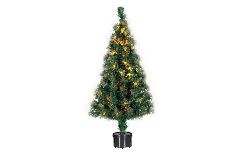 Φωτιζόμενο Χριστουγεννιάτικο Δέντρο τύπου Έλατο με Οπτικές ίνες-Fiber Optic ύψου εποχιακά   χριστουγεννιάτικα είδη
