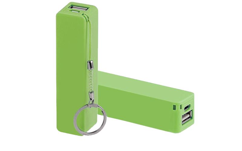 Mini Universal USB φορτιστής Smartphones & Tablets - PowerBank 3800mAh Πράσινο - gadgets   αξεσουάρ κινητών