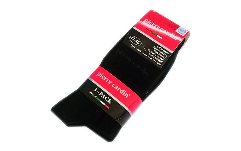 Pierre Cardin Ανδρικές Κάλτσες σετ 3 ζευγαριών σε Μαύρο χρώμα - Pierre Cardin είδη ένδυσης και υπόδησης   κάλτσες