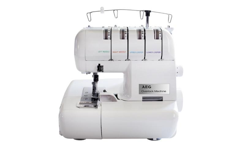 AEG Ραπτομηχανή - Sewing machine 105W με 75-1000 βελονιές /λεπτό, Μπουτόν ποδιού οικιακά είδη   ραπτομηχανές