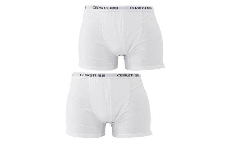 Cerruti 1881 Ανδρικό Μποξεράκι Σετ των 2 τεμ σε Λευκό χρώμα - Cerruti 1881 άνδρας   εσώρουχα