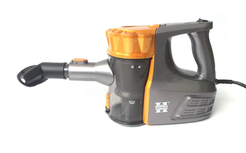 Herzberg HG-5010GD Ηλεκτρική Φορητή Σκούπα χειρός με σύστημα Cyclon 800W Κατηγορία Α Χωρίς Σακούλα – Herzberg