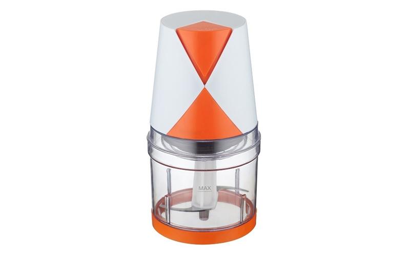 Ηλεκτρικός Πολυκόφτης - Μπλέντερ Multi 250W χωρητικότητας 500ml σε Λευκό/Πορτοκα ηλεκτρικές οικιακές συσκευές   πολυκόφτες