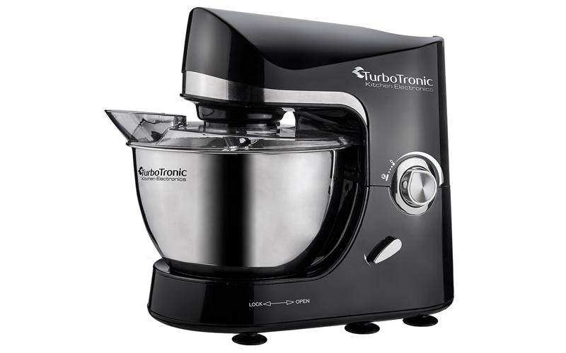 TurboTronic Κουζινομηχανή - Μίξερ 1500 Watt με Κάδο 3lt και τρία εξαρτήματα Υψηλ για την κουζίνα   κουζινομηχανές   πολυκόφτες