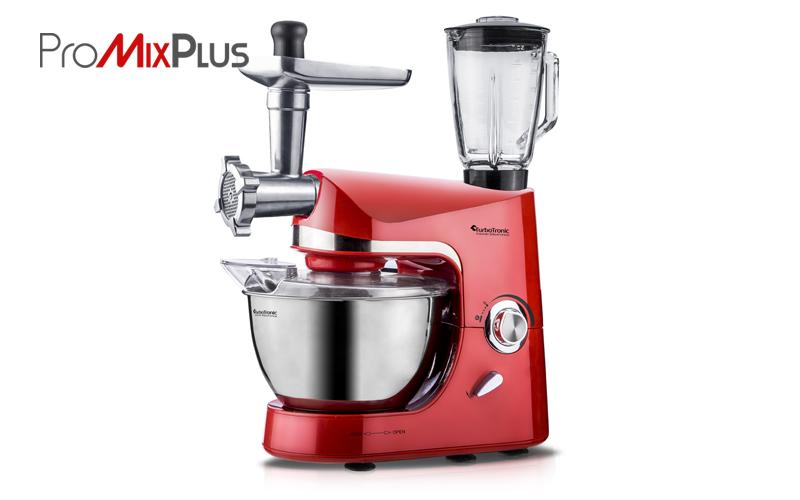 TurboTronic Κουζινομηχανή, Μίξερ, μπλέντερ (mixer-blender) Κρεατομηχανή 1500 Wat για την κουζίνα   κουζινομηχανές   πολυκόφτες