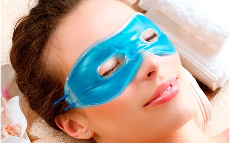 Bright Look Χαλαρωτική Gel Μάσκα Προσώπου για την ανακούφιση από πονοκεφάλους ή  υγεία  και  ομορφιά   περιποίηση προσώπου