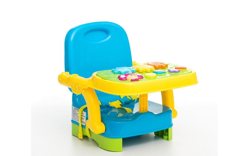Παιδικό Καρεκλάκι Φαγητού Παιχνιδιού 2 σε 1 με δίσκο δραστηριοτήτων φως και ήχο  μωρά και παιδιά   ώρα του φαγητού