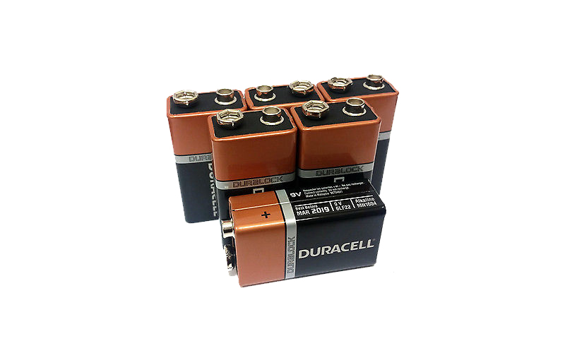 Duracell 9 volt Αλκαλικές Μπαταρίες συσκευασία 6 τμχ., 6LR61 - Duracell τεχνολογία   μπαταρίες