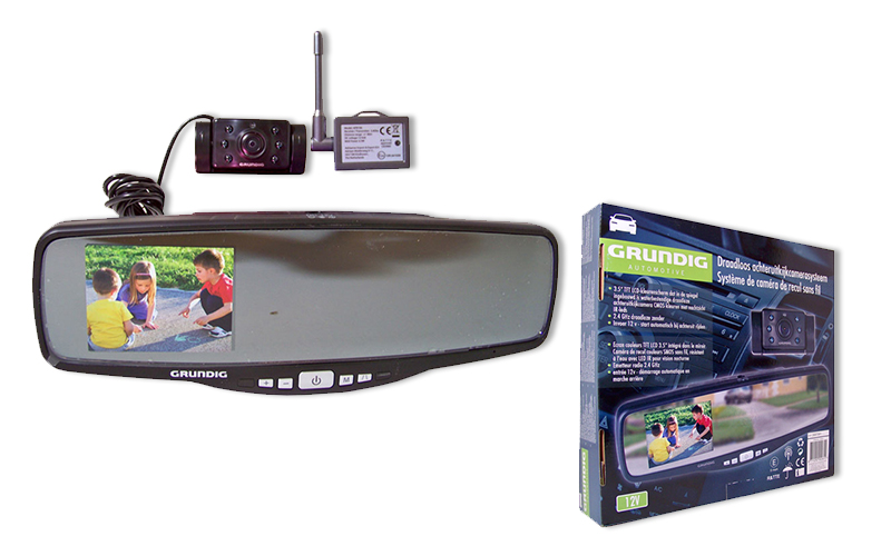 Grundig 00261 Automotivw Parking camera system  Σύστημα Παρκαρίσματος σε καθρέφτ τεχνολογία  κάμερες