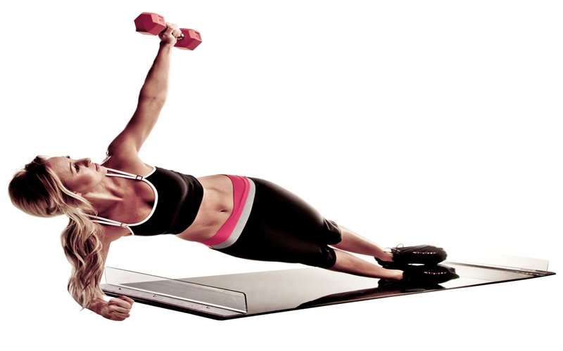 Obsidian Slide Board Ολισθηρή επιφάνεια συνολικής εκγύμνασης σώματος με 100 διαφ sports   γυμναστική  και  fitness