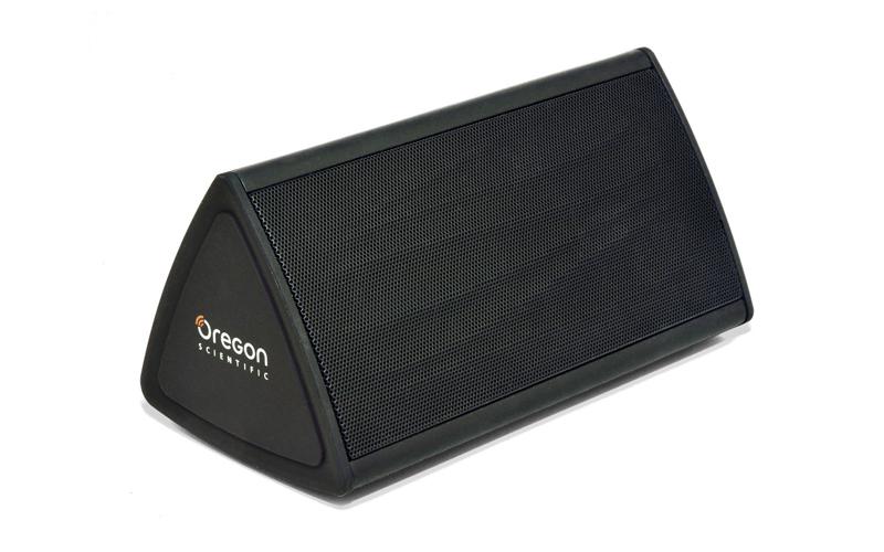 Φορητό Ηχείο Bluetooth 2x2W 136x68x75 mm σε Μαύρο χρώμα, Oregon Scientific Boomb τεχνολογία   ηχεία