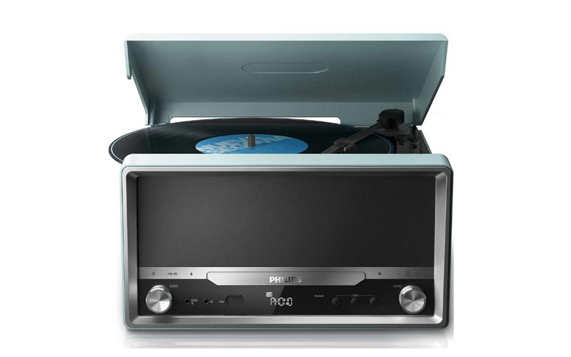 Πικαπ 4W με Bluetooth, Usb σύνδεση, δυνατότητα αναπαραγωγής MP3-CD, CD και CD-R/ τεχνολογία   cd   mp3 4   dvd   media players