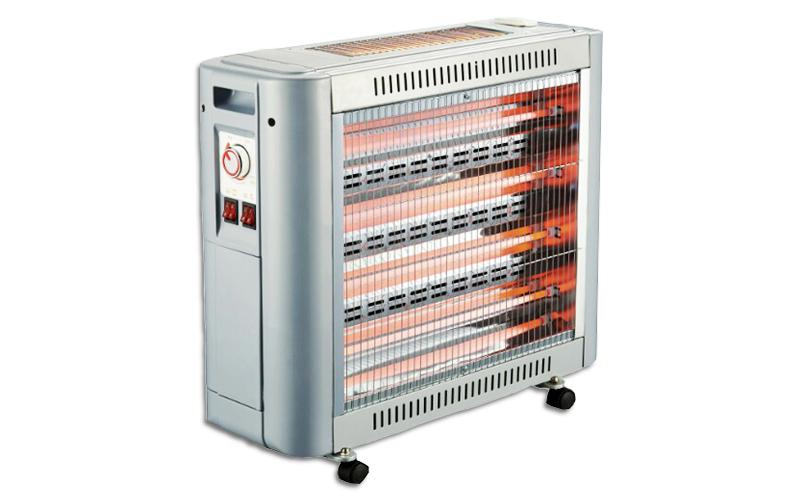 Silver Θερμάστρα-Σόμπα Χαλάζια με Ανεμιστήρα & Υγραντήρας 2800W Χρώμα Ασημί - Si θέρμανση και κλιματισμός   θέρμανση