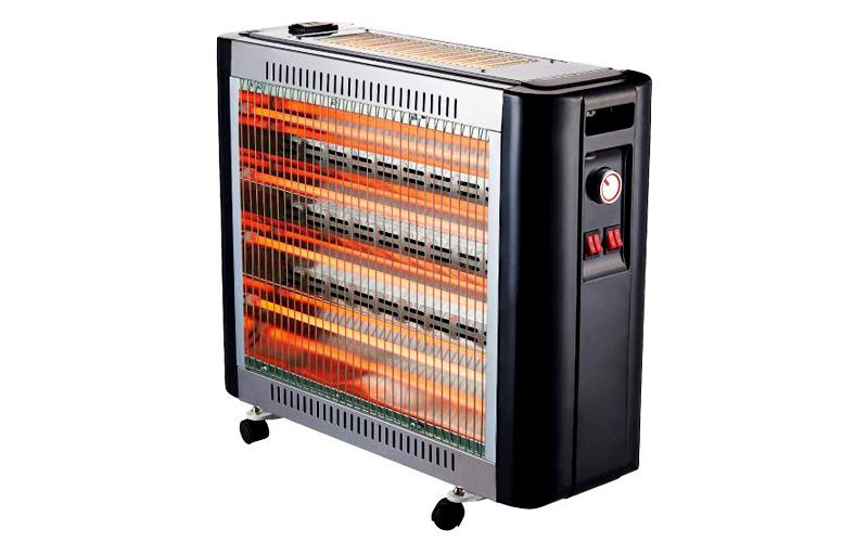 Silver Θερμάστρα-Σόμπα Χαλάζια με Ανεμιστήρα & Υγραντήρας 2800W