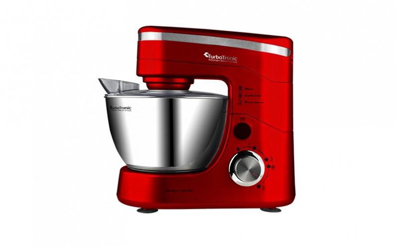 TurboTronic TT-001 Κουζινομηχανή - Μίξερ 1200 Watt με Κάδο 3lt και επιπλέον 3 αξ για την κουζίνα   κουζινομηχανές   πολυκόφτες