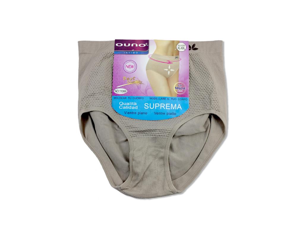 Γυναικείο Εσώρουχο Basic Maxi Σλιπ (Slip) για Επίπεδη κοιλιά σε Μπεζ χρώμα - Oun είδη ένδυσης και υπόδησης   γυναικεία εσώρουχα